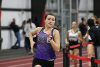 Taylor's women's team had a third place finish in the Crossroads League