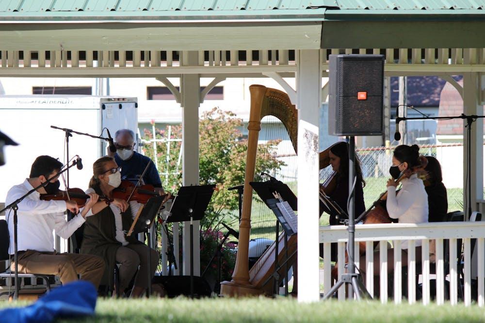 Marion Philharmonic Orchestra kicks off season outside