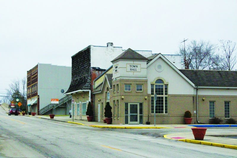 The town of Upland will receive a $1.4 million grant from the Indiana Department of Transportation (INDOT) to renovate the downtown area. (Photograph by Ellie Bookmyer)