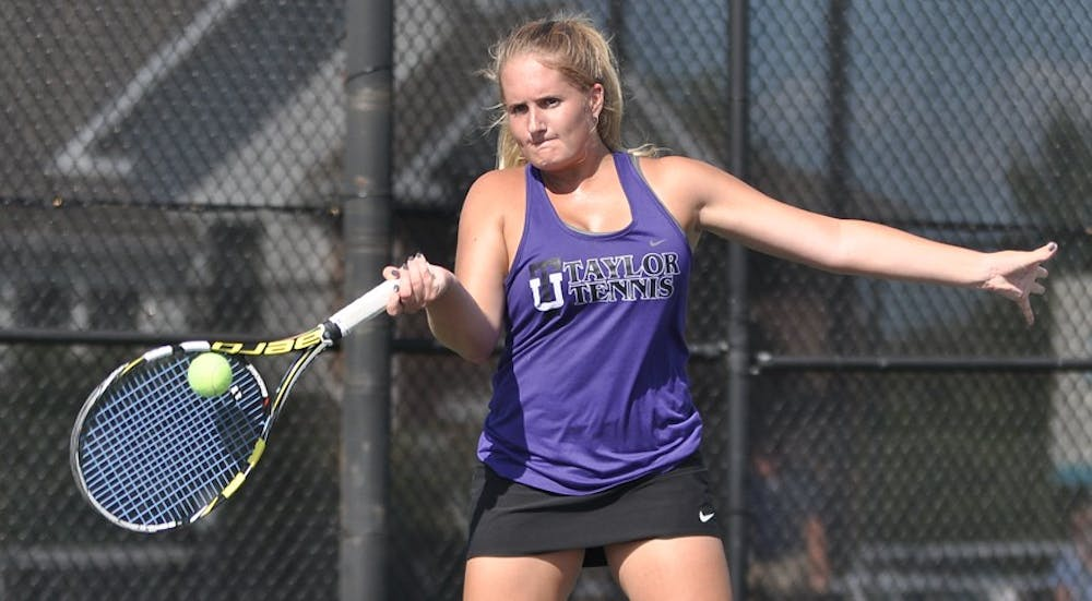 Taylor women's tennis reflects on successful season