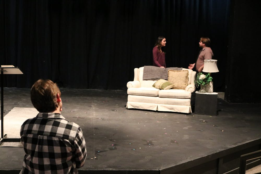 Seniors present self-directed shows on stage