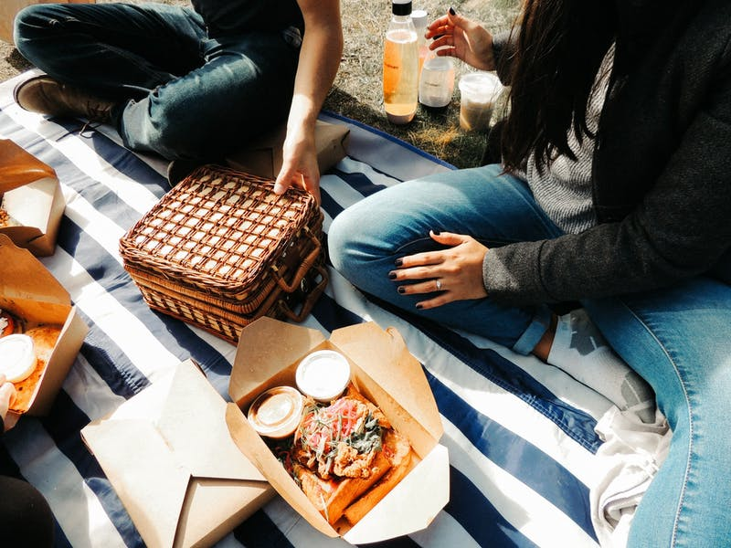 A picnic is a great way to spend some down time in beautiful weather!