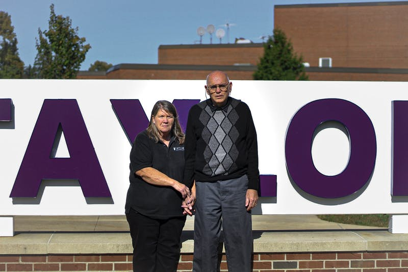 Ronald and Diana Brooks have been working at Taylor together for many years.