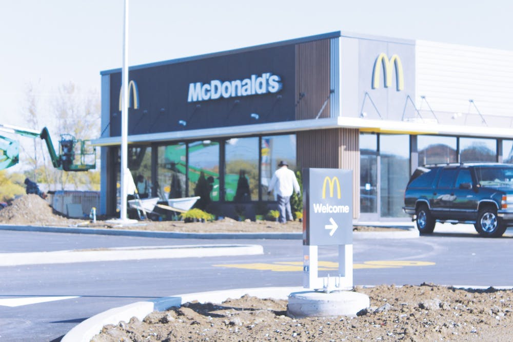 Local McDonalds gets an extreme makeover