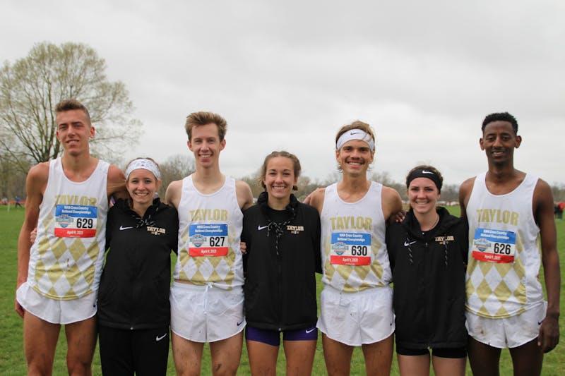 Seniors Josh Roth, Livy Schroder, Sam Hardy, Katelynn Hanback, Luke Rovenstine, Sarah Harden and Daniel Gerber competed at nationals