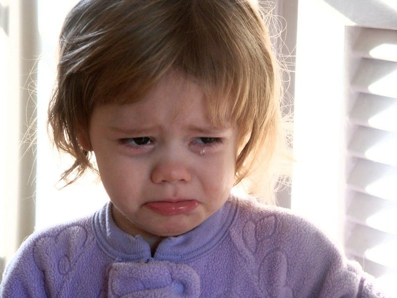 College students and toddlers alike turn pouty when they don't get their way.