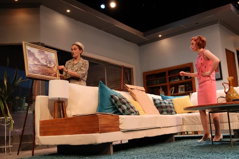 "Taylor Theatre opens spring semester with their production of ""Guess Who's Coming to Dinner."" (Photo by Anna Collins)"