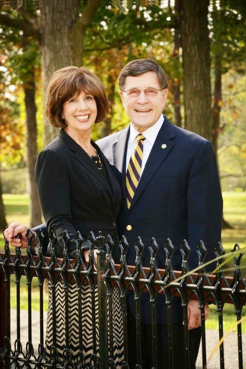 Eugene and Mary Habecker will receive the Legion of Honor award for their servant leadership as Taylor University President and First Lady.