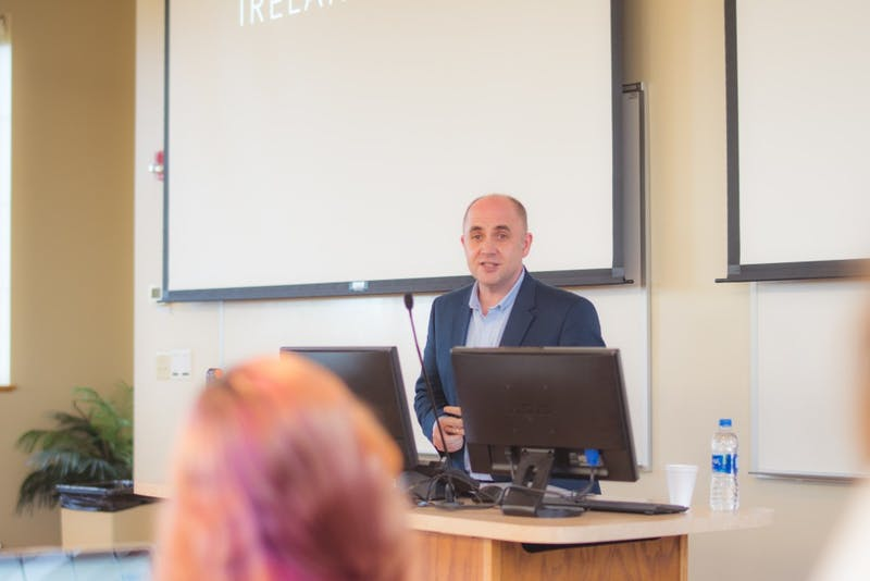 David Blevins spoke about the story of Ireland and what being an Irish Christian journalist is like.