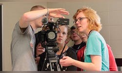 In previous summer camps, high school students began to learn the ins and outs of the film program at Taylor.
