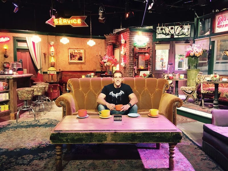 Who needs friends when you're at Central Perk!