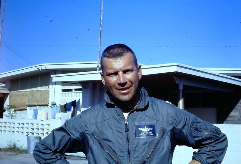 Pictured is my father, Col. Philip Chaffee (USAF-Ret), as he appeared in 1968 serving in Viet Nam.Photograph provided by Linda K. Taylor.