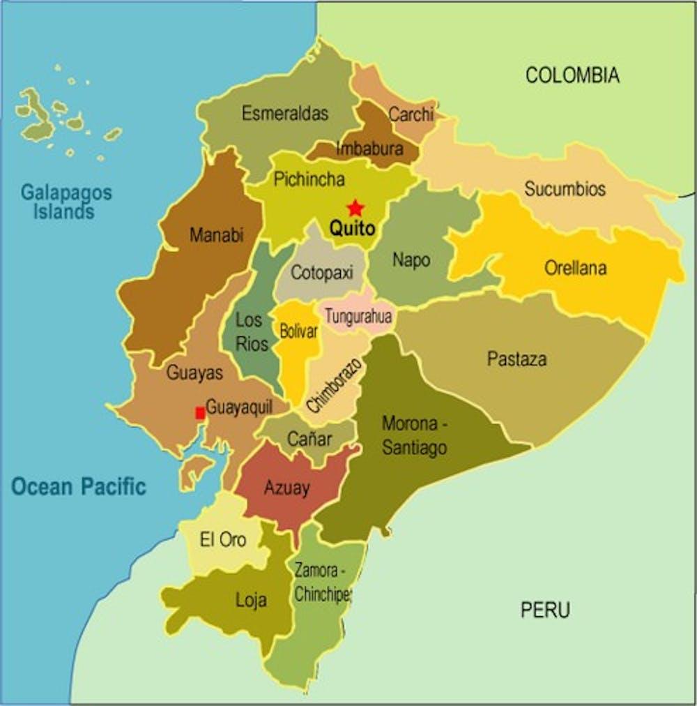 Earthquake disrupts Ecuador