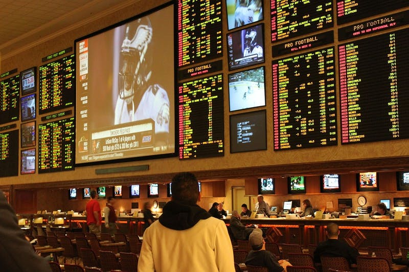 A sportsbook in Las Vegas, Nev. What used to be an activity restricted to a few areas within the country, has become easily accessible online.