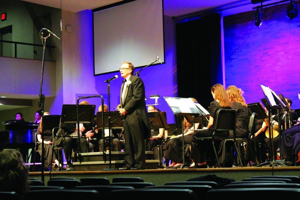 Music faculty bid farewell to Al Harrison