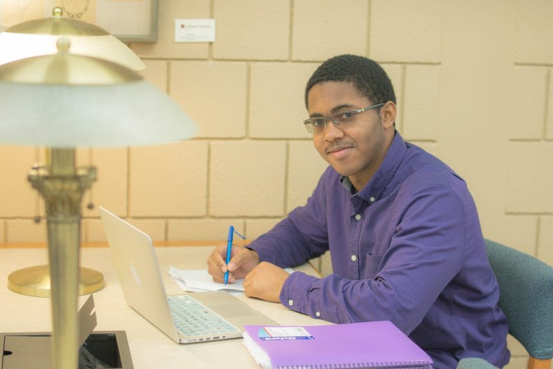 Junior David Ferguson will be the president of the new Colleges Against Cancer chapter at Taylor.