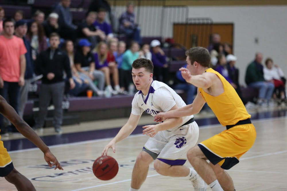 Men's basketball starts season with two wins