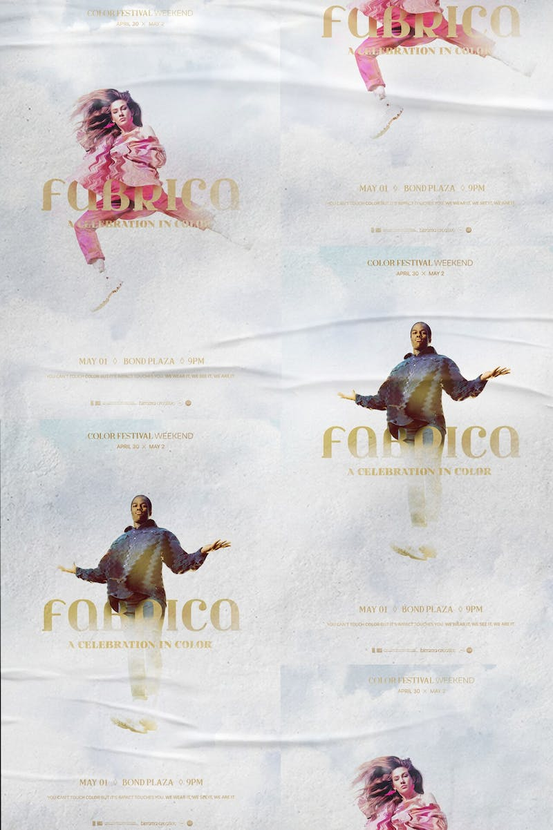 Birrama Creative advertises events on and off campus, such as Fabrica.