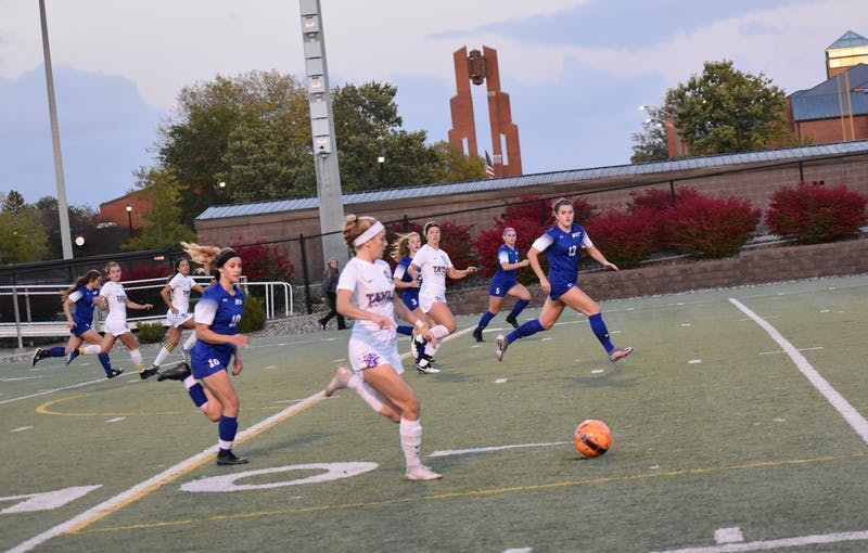 Taylor women's soccer found themselves dealing with a tough loss last Saturday