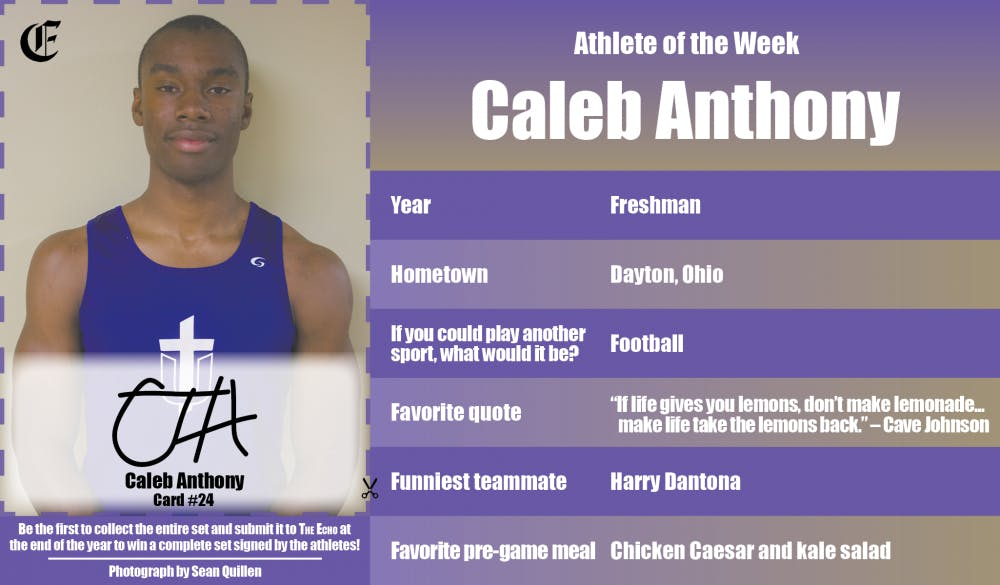 Athlete of the Week – Caleb Anthony