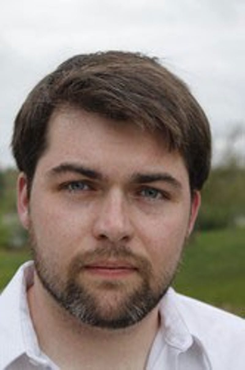 """Alumni Chandler Birch's 60,000 word deadline for his first published book, """"The Facefaker's Game,"""" was written over a single summer. (Photo provided by Simon & Schuster)"""