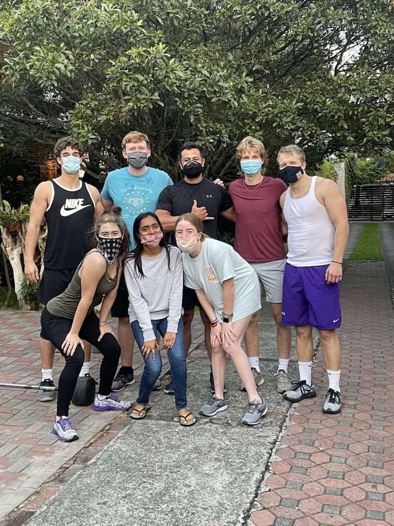Students study abroad in Ecuador