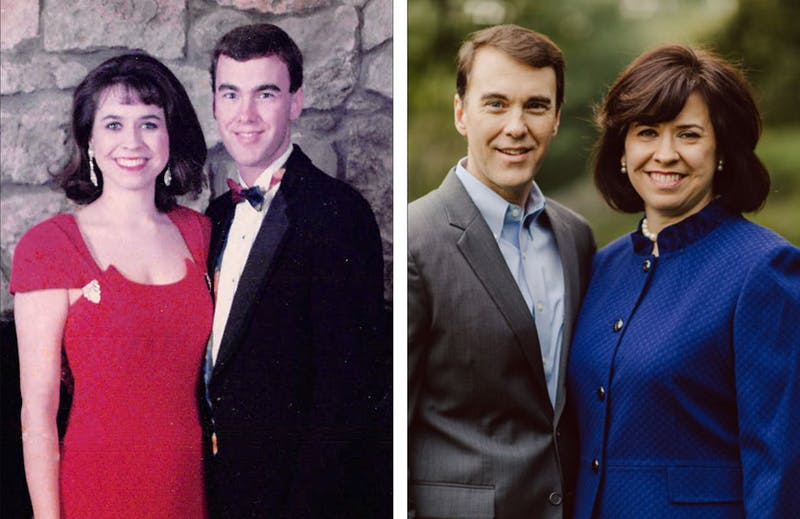 Michael and Rebecca Lindsay have been dating since college.