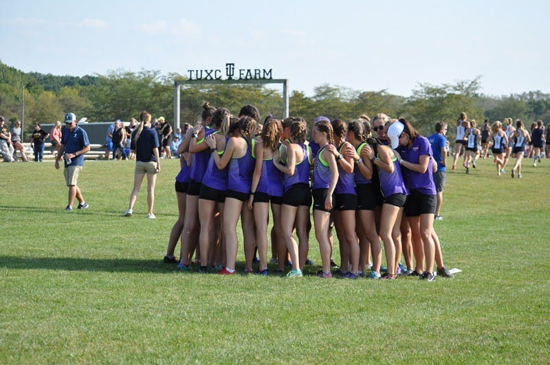 Women's cross country finished 3rd of 8 Friday