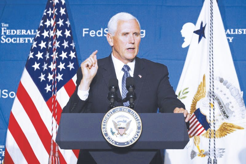 Vice President Mike Pence's visit to Taylor University calls for increased security at Commencement.