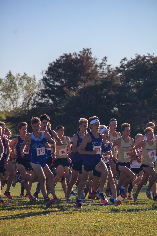 Trojans run in Bullock Invite