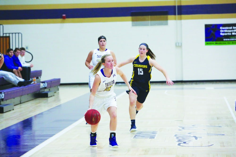 Trojans rebound after loss to Marian