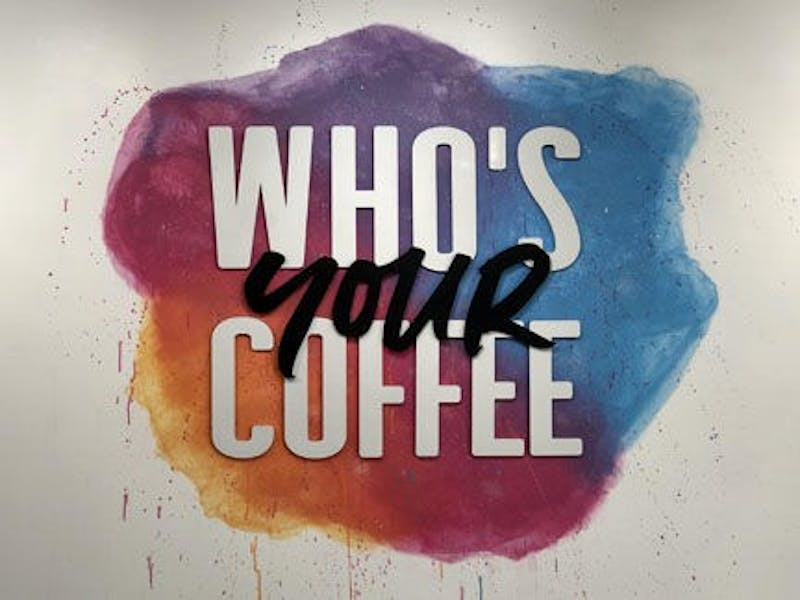 Who's Your Coffee opened last fall in Harftord City.