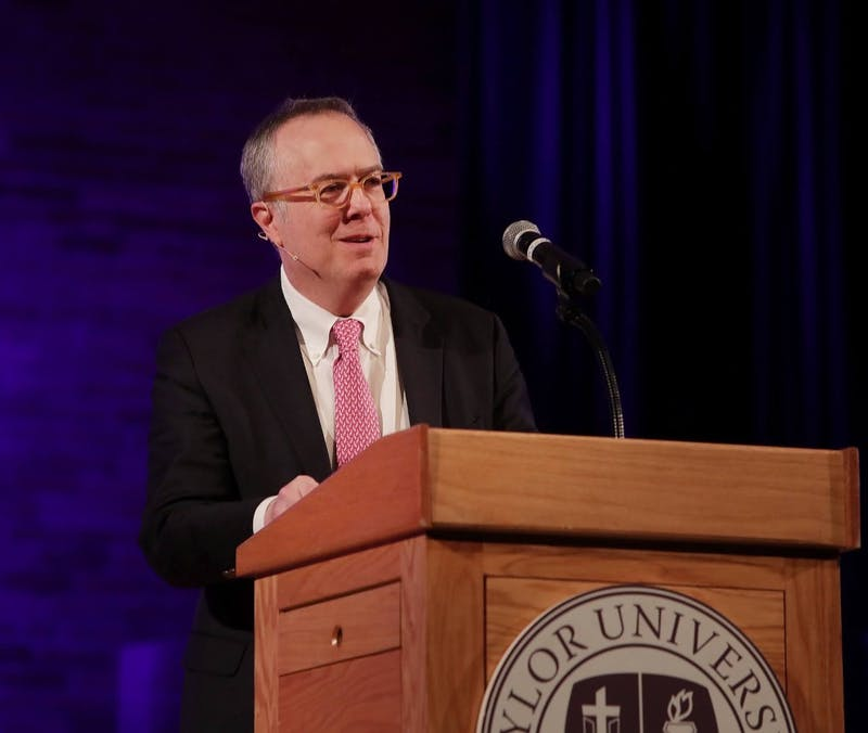 Michael Gerson speaks at chapel for OVC Conference