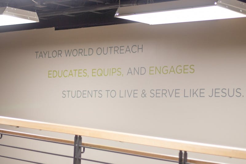 Taylor World Outreach has a mission statement that seeks to further the kingdom of God by the work of students.