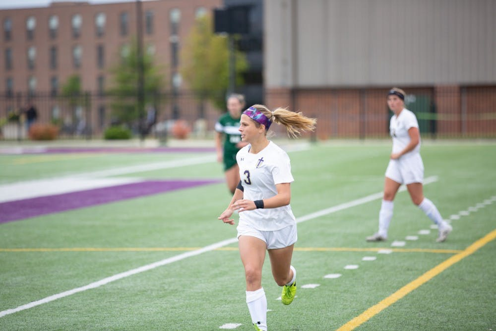 Women's soccer shows mettle