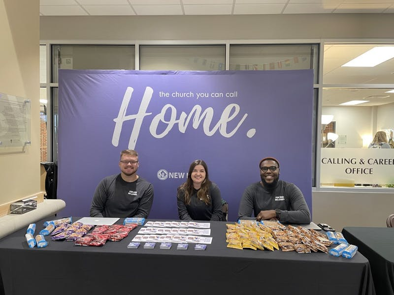 """Taylor's """"local church"""" week gave students an opportunity to get connected with churches nearby."""