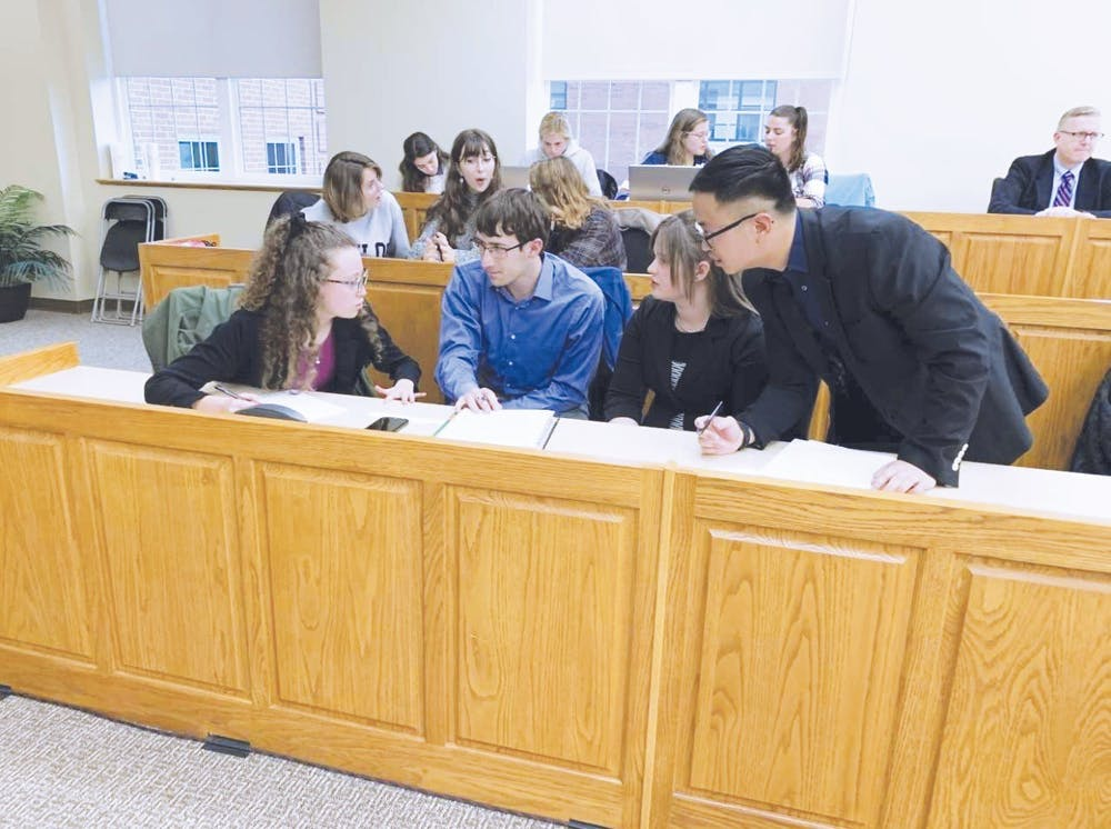 Ethics Bowl team takes on nationals