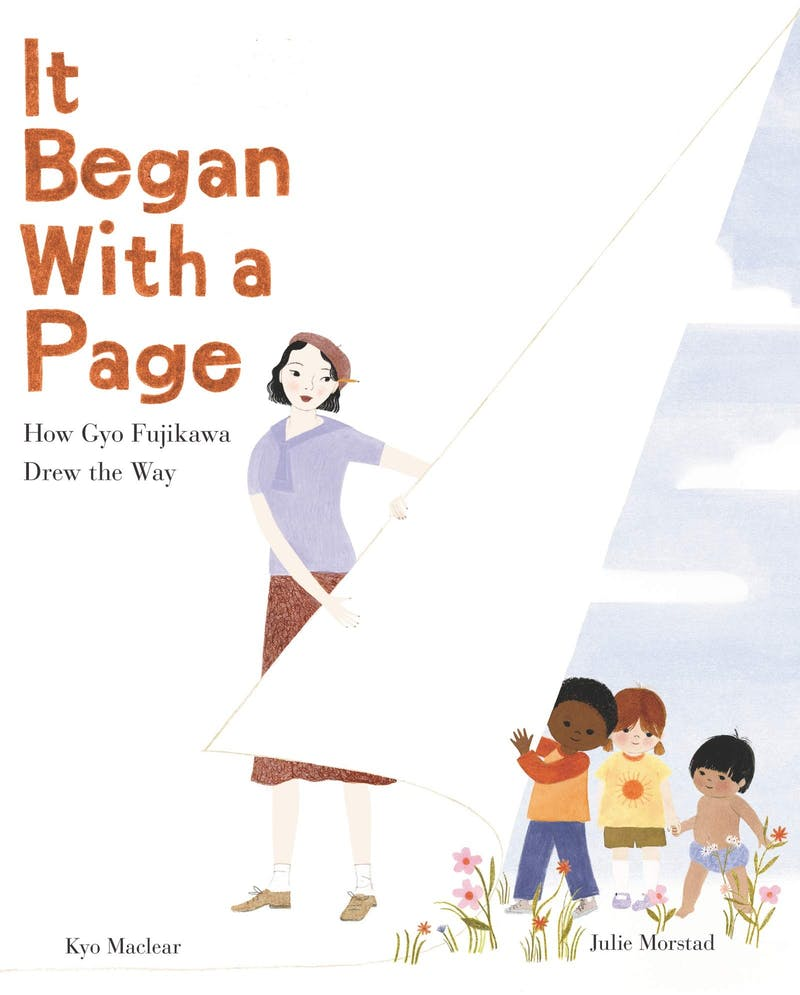 """Kyo Maclear's book """"It Began with a Page"""" was released on Sept. 2019. (Photo provided by Amazon)."""
