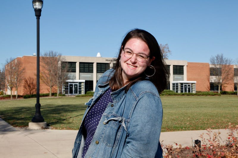 A&E editor Hailey Hendricks shares her passion for students and writing.