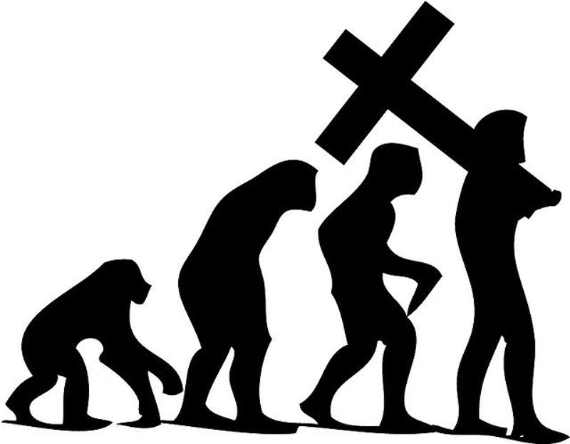 Death is necessary to evolution; if humans evolved, do we need Jesus?