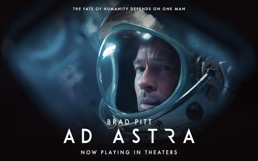 Brad Pitt stars in psychologically taxing space odyssey