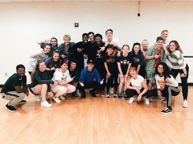 TU Dance Vibes meets Sunday evenings to learn hip-hop choreography to current pop music.