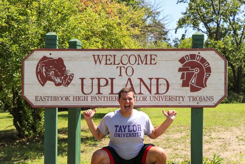 Junior Caleb Newcomer enjoys every moment he has in Upland