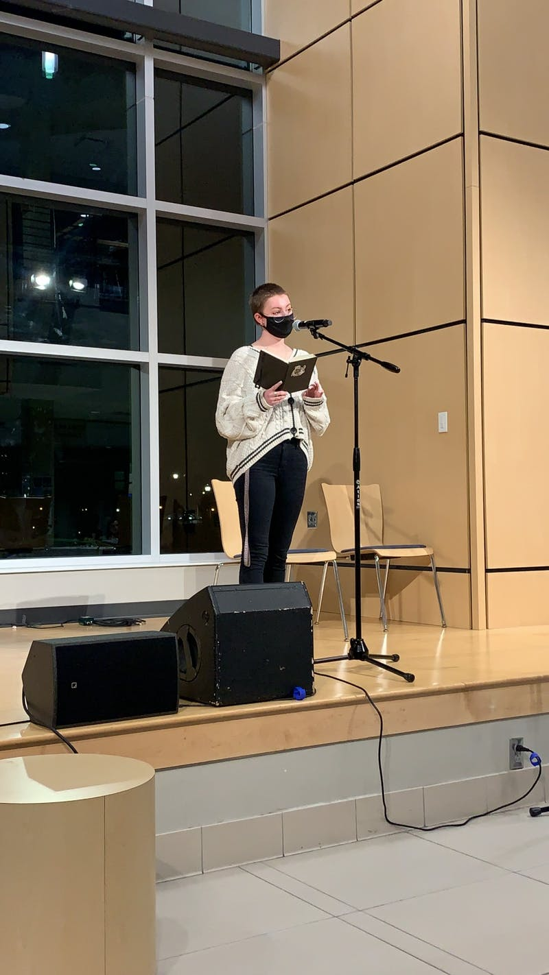 International Coffeehouse took place in the LaRita Boren Campus Center on Mar. 12. (Photo provided by Abigail Franklin)