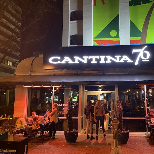 Best Mexican Food: Cantina 76