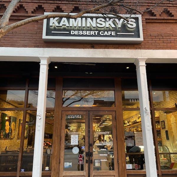 Best Place to Celebrate a Birthday: Kaminsky's Dessert Cafe