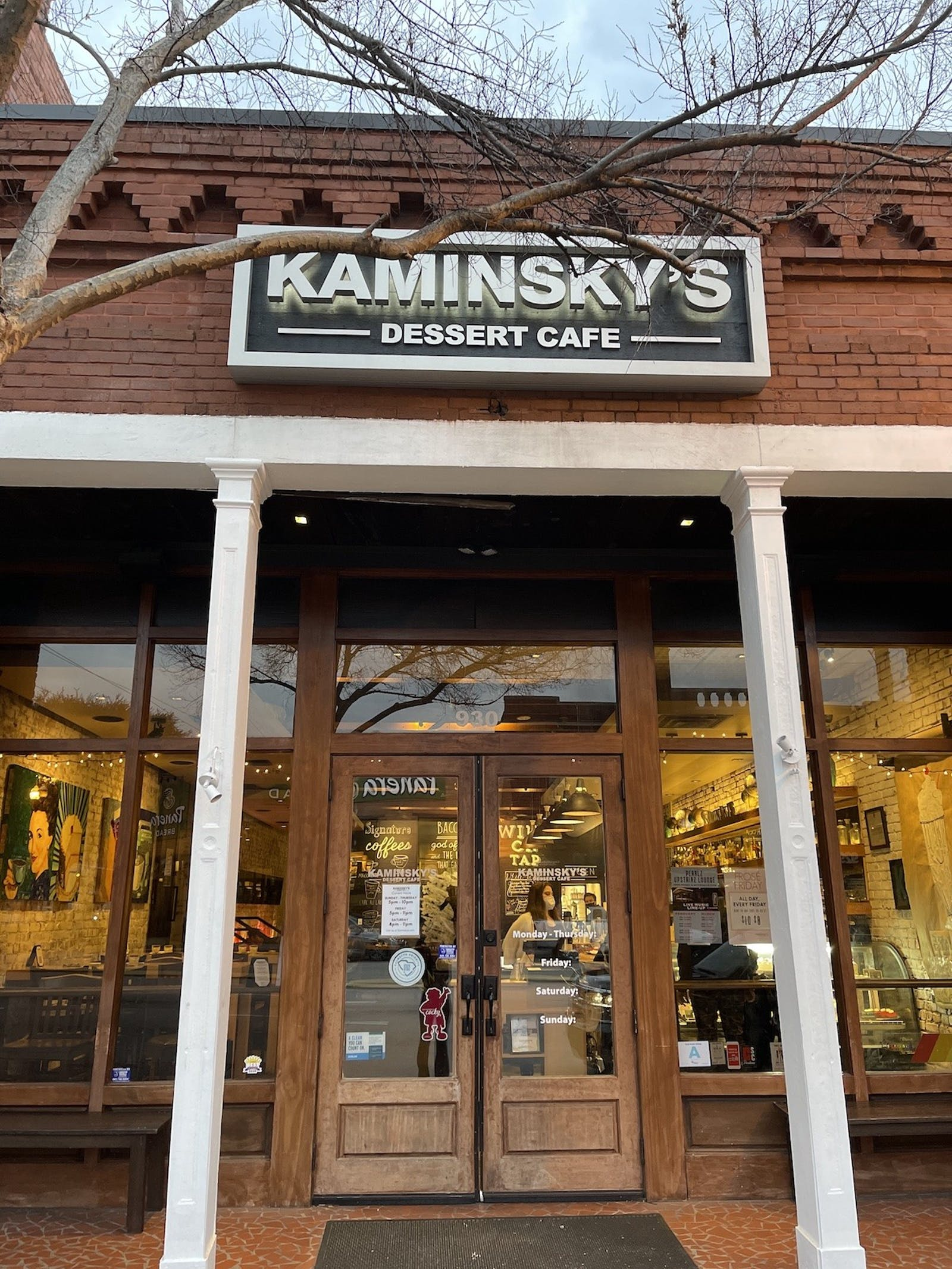 Photo for Best Place to Celebrate a Birthday: Kaminsky's Dessert Cafe