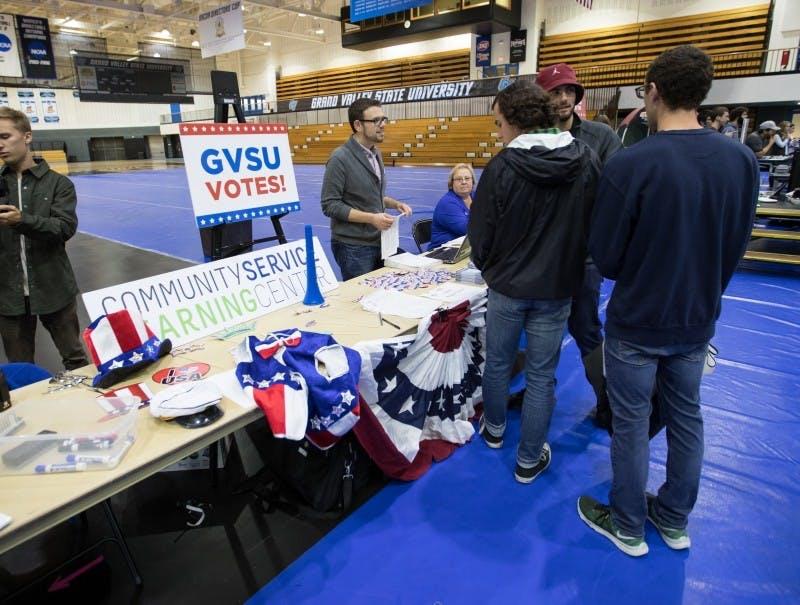 students vote