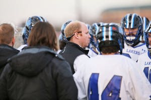 GVSU coach Tim Murray