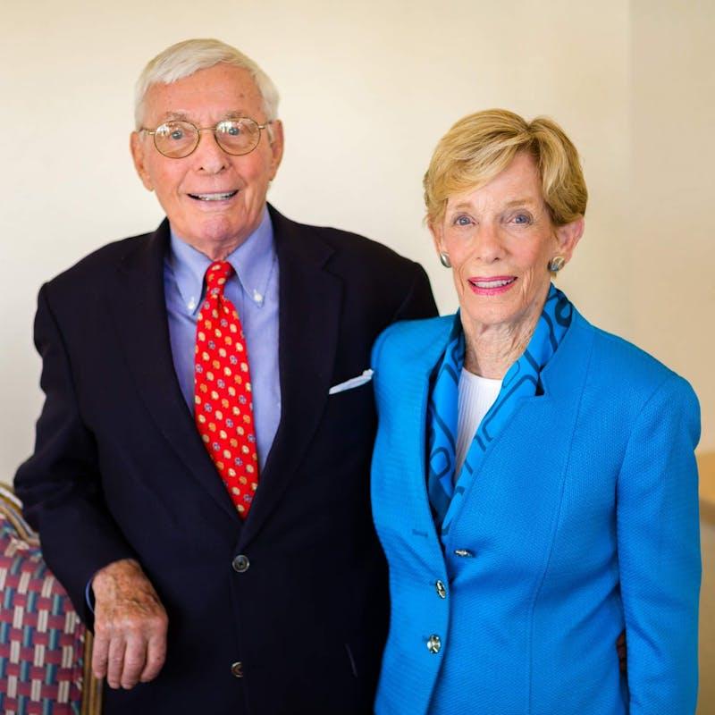 GVL / Courtesy - GVNow   Allen I. and Helen J. Hunting